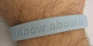 Prostate Cancer Charity Wristbands
