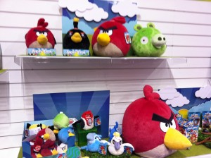 Angry Birds Plush Toy Range