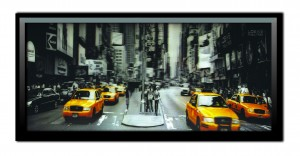 3D Lenticular Framed Picture - New York Yellow Taxi