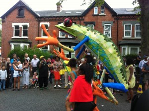 Leeds West Indian Carnival Parade 2013