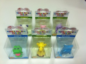 TY Beanie Puzzle Eraser Selection