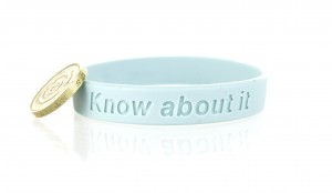 Please click here to buy Charity wristbands and support Prostate Cancer UK