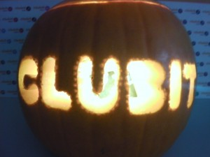 Clubit TV Halloween Pumpkin