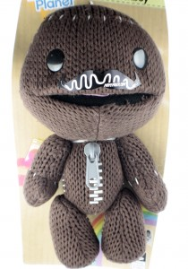 SackBoy From Little Big Planet with a Moustache