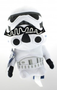 Star Wars Storm Trooper with Moustache for Movember