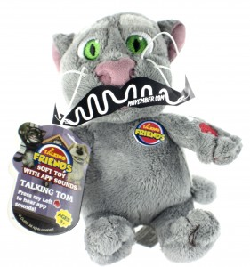 Talking Tom Plush Toy with a Moustache