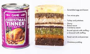 Christmas Dinner in a Tin