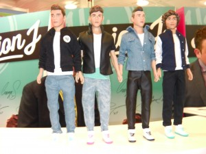 Union J Toy Doll Figures