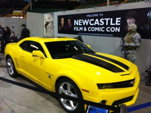 Bumble Bee Camaro from Transformers