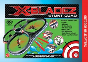 X-Bladez Stunt Quad