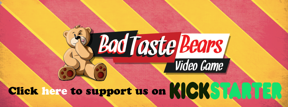 Click to Support Bad Taste Bears Game on Kickstarter
